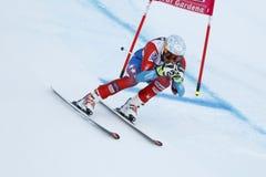 GBIESEMEYER Thomas in FIS alpiner Ski World Cup - 3. MÄNNER SUPER Lizenzfreie Stockfotos