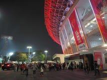 GBK-sporten complex in Senayan royalty-vrije stock afbeeldingen