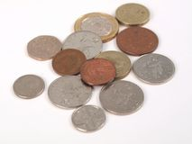 GBP coins stock photos