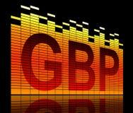 GBP concept. Stock Photo