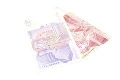 GBP de livres sterling britanniques d'argent Photos stock