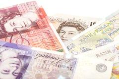 Gbp för ett pund sterling för brittiska pund för pengar Royaltyfri Bild