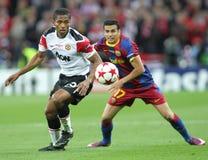 GBR: Τελικό 2011 του Champions League ποδοσφαίρου Στοκ Φωτογραφίες