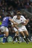 GBR :橄榄球联合英国对萨摩亚 免版税库存图片