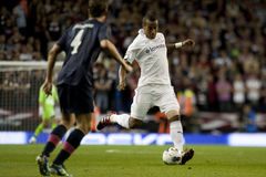 GBR :橄榄球UEFA欧罗巴同盟,托特纳姆v心脏25/08/2011 免版税库存照片