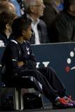 GBR :橄榄球UEFA欧罗巴同盟,托特纳姆v心脏25/08/2011 免版税图库摄影