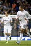 GBR: De Liga van voetbaluefa Europa, Tottenham v Harten 25/08/2011 Royalty-vrije Stock Foto's