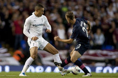 GBR: De Liga van voetbaluefa Europa, Tottenham v Harten 25/08/2011 Royalty-vrije Stock Afbeelding