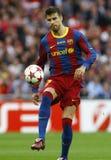 GBR: El fútbol defiende el final 2011 de la liga imágenes de archivo libres de regalías