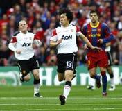 GBR: El fútbol defiende el final 2011 de la liga foto de archivo