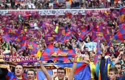 GBR: El fútbol defiende el final 2011 de la liga fotos de archivo libres de regalías