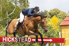GBR: Equestrian Hickstead Jump Derby 2011 Royalty Free Stock Photo