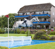 GBR: Equestrian Hickstead Jump Derby 2011 Stock Photography