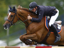 GBR: Equestrian Hickstead Jump Derby 2011 Royalty Free Stock Photography