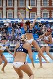 GBR: FIVB διεθνές Λονδίνο 12/08/2011 Στοκ Εικόνες