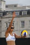 GBR: FIVB διεθνές Λονδίνο 12/08/2011 Στοκ φωτογραφία με δικαίωμα ελεύθερης χρήσης