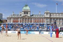 GBR: FIVB διεθνές Λονδίνο 10/08/2011 Στοκ Εικόνες