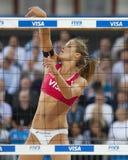 GBR: FIVB международный Лондон 12/08/2011 Стоковые Фото