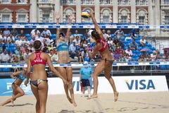 GBR: FIVB международный Лондон 10/08/2011 Стоковая Фотография RF