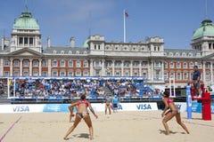 GBR: FIVB международный Лондон 10/08/2011 Стоковая Фотография