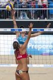 GBR: FIVB международный Лондон 10/08/2011 Стоковые Изображения