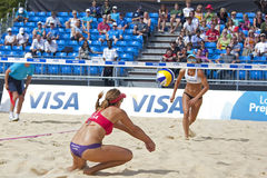 GBR: FIVB International London 10/08/2011 Royalty Free Stock Images