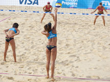 GBR: FIVB International London 12/08/2011 Royalty Free Stock Photography