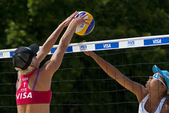 GBR: FIVB International London 10/08/2011 Royalty Free Stock Photography