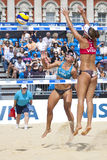 GBR: FIVB internationales London 10/08/2011 Lizenzfreie Stockfotos