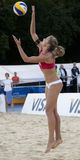 GBR: FIVB internationella London 12/08/2011 Arkivbilder