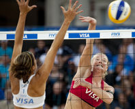 GBR : FIVB Londres internationale 12/08/2011 Photographie stock