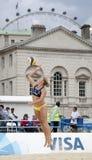 GBR : FIVB Londres internationale 12/08/2011 Photographie stock libre de droits