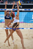 GBR : FIVB Londres internationale 12/08/2011 Images stock