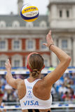GBR : FIVB Londres internationale 12/08/2011 Photos stock