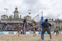 GBR : FIVB Londres internationale 12/08/2011 Images libres de droits
