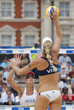 GBR : FIVB Londres internationale 12/08/2011 Photo stock