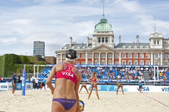 GBR : FIVB Londres internationale 10/08/2011 Images stock