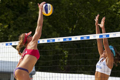 GBR : FIVB Londres internationale 10/08/2011 Photos stock