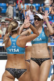 GBR : FIVB Londres internationale 10/08/2011 Photo stock