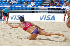 GBR : FIVB Londres internationale 10/08/2011 Image stock