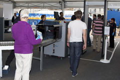 GBR: FIVB Międzynarodowy Londyn 12/08/2011 Fotografia Stock