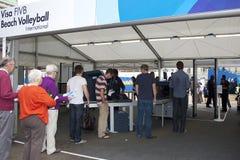 GBR: FIVB Międzynarodowy Londyn 12/08/2011 Zdjęcia Stock