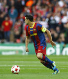 GBR: Football Champions League Final 2011. LONDON, ENGLAND. May 28 2011: Barcelona's midfielder Xavi Hernandez during the 2011UEFA Champions League final between stock photos