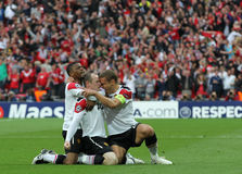 GBR: Football Champions League Final 2011 Royalty Free Stock Image