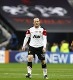 GBR: Football Champions League Final 2011. LONDON, ENGLAND. May 28 2011: Manchester's forward Wayne Rooney during the 2011UEFA Champions League final between stock photos