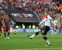 GBR: Football Champions League Final 2011 Royalty Free Stock Photo