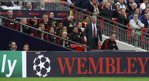 GBR: Football Champions League Final 2011 Stock Images