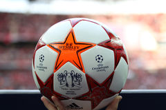 GBR: Football Champions League Final 2011 Royalty Free Stock Images