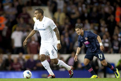 GBR: Football UEFA Europa League, Tottenham v Hearts 25/08/2011 Royalty Free Stock Image