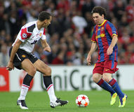 GBR: Fußball verficht Liga-Schluss 2011 Stockfotografie